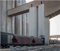مرور 3 قطارات غلال عبر ميناء دمياط خلال الـ 24 ساعة الماضية