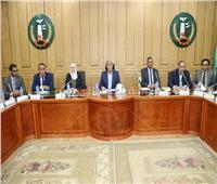 محافظ المنوفية يستقبل وفد مجلس الوزراء لمتابعة المشروعات القومية