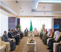 رئيس مجلس الدولة يزور ديوان المظالم بالسعودية لبحث التعاون القضائي