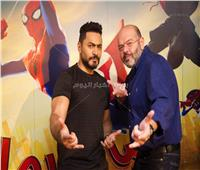 تامر حسني يوجه تهنئة لمخرج فيلم سبايدرمان في عيد ميلاده
