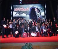 وزيرة الثقافة تكرم 7 شخصيات في ختام القومي للسينما الـ22