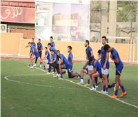 فقرة بدنية للاعبي الأهلي مع مدرب الأحمال
