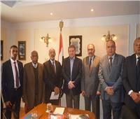 وزير قطاع الأعمال يبحث مع سفير تشاد سبل التعاون المشترك
