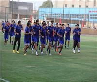 أحمد ياسر ريان يكتفي بالجري في مران الأهلي