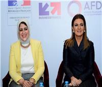 هالة زايد: مصر منفتحة بشكل كبير جدا لتحقيق نقلة نوعية في مجال الصحة في مصر