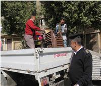 أمن القاهرة يطهر «سوق المنهل» بمدينة نصر ويزيل 513 حالة تعدى
