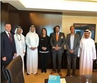 غادة والي تلتقي المدير الإقليمي لمكتب الأمم المتحدة بدولة الإمارات