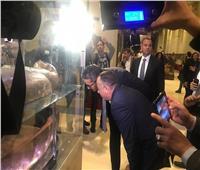 وزير الآثار يتفقد  قاعة العرض« يويا وتويا» بالمتحف المصري