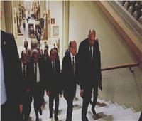 وصول عدد من الوزراء إلى احتفالية المتحف المصري