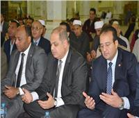 محافظ الغربية يحضر احتفالية مديرية الأوقاف بالمولد النبوي الشريف