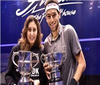 تأهل محمد الشوربجى ونور الشربيني لدور الـ16 لبطولة هونج كونج المفتوحة للاسكواش