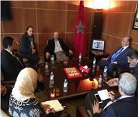 محافظا القاهرة والقليوبية يزوران عمدة مراكش بالمغرب