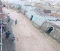 محافظ أسيوط: البدء في سقف المنازل المتضررة من الأمطار بعزبة سعيد