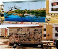 حوار| صاحب تحويل أكشاك الكهرباء لـ«تحف فنية»: أدواتي ضد الماء والشمس.. وأرسم بكل مدينة «طابعها الخاص»