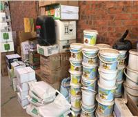 ضبط مخزن مخصبات ومبيدات مجهولة المصدر بالمنوفية