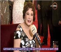 فيديو| لبلبة بإطلالة «فرنسية» في مهرجان القاهرة السينمائي