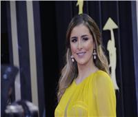 صور| عائشة بن أحمد بـ«الأصفر» في افتتاح مهرجان القاهرة