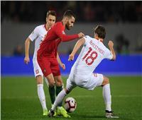 بولندا إلى المستوى الثاني في الأمم الأوروبية بعد التعادل مع البرتغال