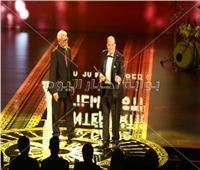 صور| تكريمات حفل افتتاح مهرجان القاهرة السينمائي