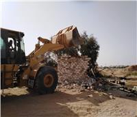 حملة موسعة لإزالة الإشغالات والتعديات بمدينة أسيوط الجديدة