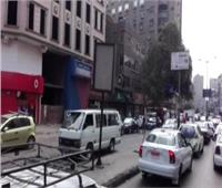 النشرة المرورية: كثافات مرتفعة بمحاور القاهرة