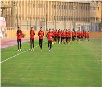 مران قوي للاعبين الغائبين عن مباراة الوصل اليوم