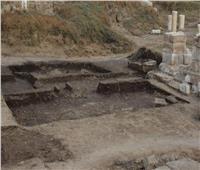 الآثار تكشف عن كتلتين حجريتين بـ«معبد رع» بالمطرية