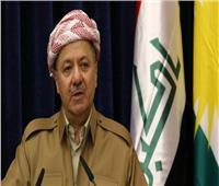 بارزاني فى بغداد لحلحلة خلافات حكومة المركز مع أربيل