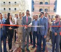 الأنصاري يفتتح أول مدرسة دولية بسوهاج الجديدة