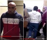 فيديو| لحظة القبض على متحرش المنصورة «حديث السوشيال ميديا»