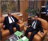 «أبوستيت» يلتقي وزيرا الزراعة في إسبانيا وتونس
