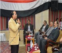 نادي النيل بجامعة المنصورة يحتفل بالمولد النبوي