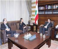 رئيس الوزراء اللبناني لـ«سحر نصر»: لبنان حريصة على ضخ استثمارات جديدة في مصر