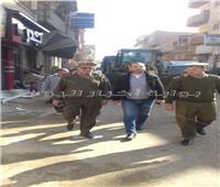 حملة أمنية لضبط الهاربين من العدالة بشبين الكوم