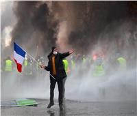 20 صورة لاحتجاجات فرنسا.. العنف يتصاعد والشرطة تلجأ للغاز المسيل للدموع
