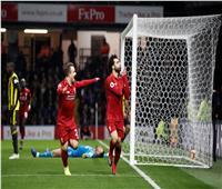 شاهد| صلاح يسجل هدفًا رائعًا في فوز ليفربول على واتفورد