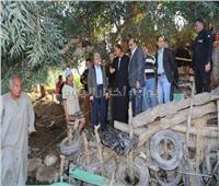 محافظ المنوفية: تعويضات فورية لضحايا حادث غرق «قارب» النيل