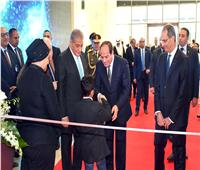 السيسي يشهد افتتاح الدورة الـ 22 لمؤتمر ومعرض «كايرو آي سي تي»