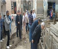 صور| نائب رئيس «القابضة للمياه» يتفقد مشروعات المنوفية