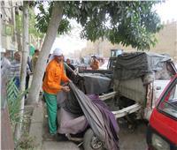 أمن القاهرة يواصل مطاردة الباعة الجائلين ورفع الإشغالات
