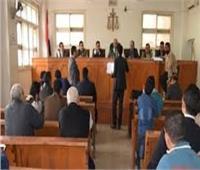 نظر إعادة محاكمة متهم بقتل مواطن لسرقته في المرج