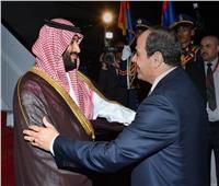 فيديو| مظاهرة حب لولي عهد السعودية خلال زيارته للقاهرة