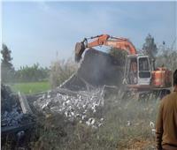 صور وفيديو| «الزراعة» تواصل إزالة التعديات على الأراضي الزراعية لليوم الثاني