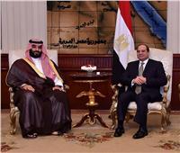 مباحثات السيسي وولي العهد السعودي تتصدر وسائل الإعلام الدولية