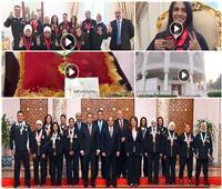 فيديو| الرئيس لأبطال الأولمبياد الخاص: أنتم قدوة للشباب