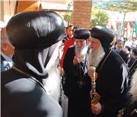 دير القديسة دميانة يحتفل بتجليس الأنبا ماركوس أسقفا لدمياط