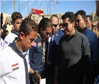 وزير الرياضة يوجه بسرعة الانتهاء من الملاعب في 185 مركز شباب