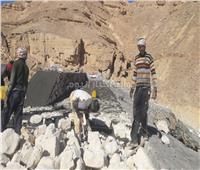 بالصور.. الحكومة تحاصر «مياه السيول» لحماية الاستثمارات بجنوب سيناء