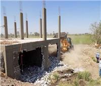 إزالة 255 حالة تعد على أملاك الدولة والأراضي الزراعية ونهر النيل