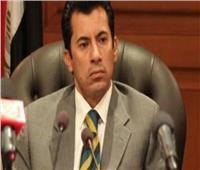 وزير الشباب والرياضة في المطار لاستقبال الخطيب